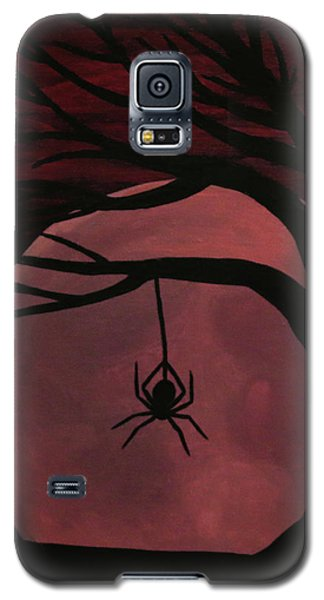 Spooky Spider Tree Galaxy S5 Case