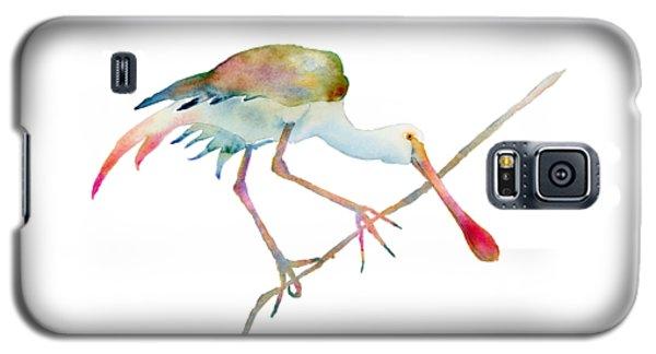 Spoonbill  Galaxy S5 Case by Amy Kirkpatrick