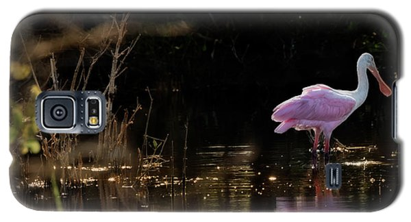 Spoonbill Fishing For Supper Galaxy S5 Case