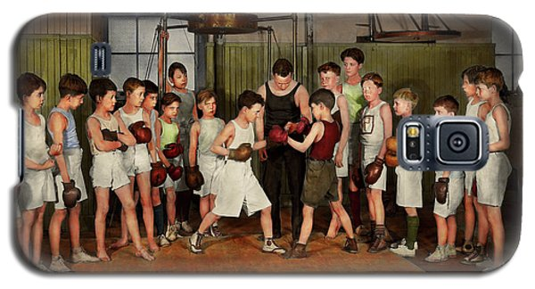 Galaxy S5 Case featuring the photograph Sport - Boxing - Fists Of Fury 1924 by Mike Savad
