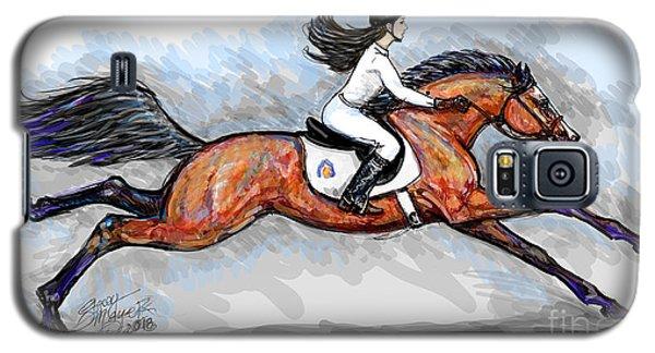 Sport Horse Rider Galaxy S5 Case