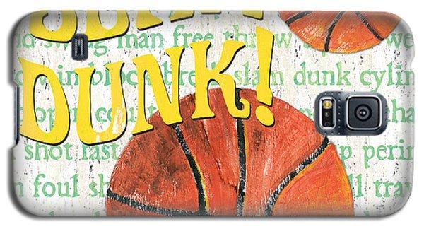 Sports Fan Basketball Galaxy S5 Case by Debbie DeWitt
