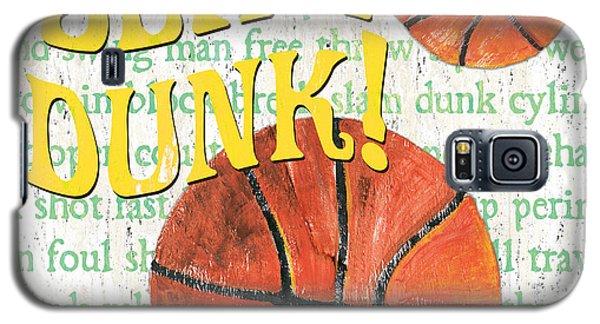 Basketball Galaxy S5 Case - Sports Fan Basketball by Debbie DeWitt