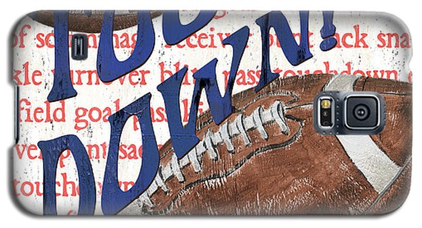 Sports Fan Football Galaxy S5 Case by Debbie DeWitt