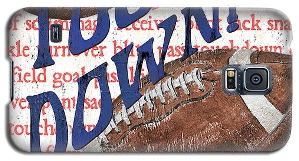 Sports Fan Football Galaxy S5 Case by Debbie DeWitt