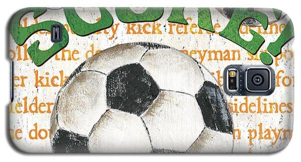 Sports Fan Soccer Galaxy S5 Case by Debbie DeWitt