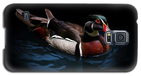 Spotlight On A Wood Duck Galaxy S5 Case