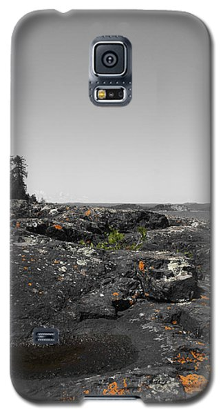 Galaxy S5 Case featuring the photograph Spotted Rocks by Dylan Punke