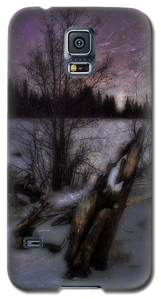 Galaxy S5 Case featuring the photograph Sprague Lake Winter Dream by Ellen Heaverlo