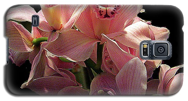 Spray Of Pink Orchids Galaxy S5 Case