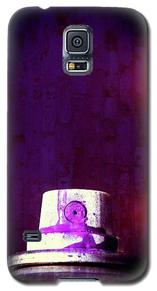 Galaxy S5 Case featuring the mixed media Sprayed by Karol Livote