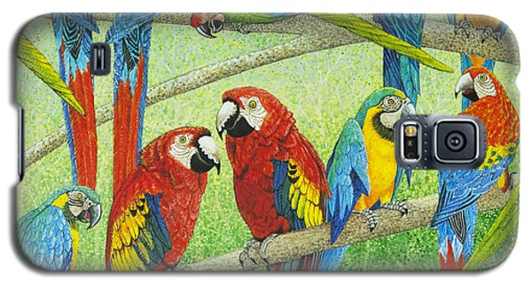 Macaw Galaxy S5 Case - Spreading The News by Pat Scott