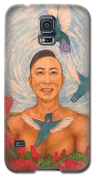 Spring Amazed By The Hummingbirds Galaxy S5 Case by Kent Chua