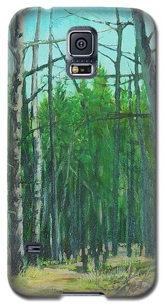Spring Aspens Galaxy S5 Case