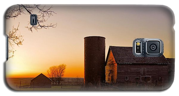 Spring At Birch Barn 2 Galaxy S5 Case by Bonfire Photography
