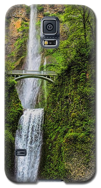 Spring At Multnomah Falls Galaxy S5 Case