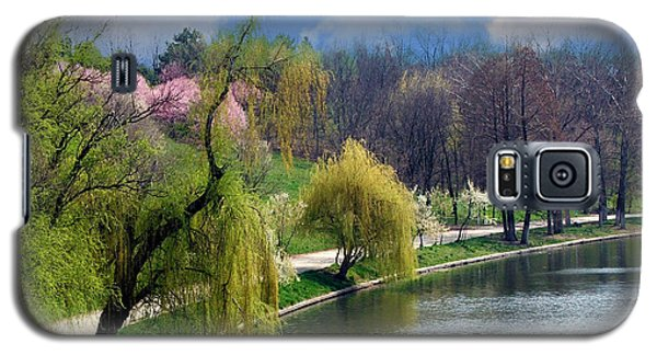 Spring At The Lake Galaxy S5 Case