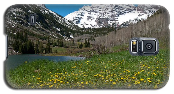 Spring At The Maroon Bells Galaxy S5 Case