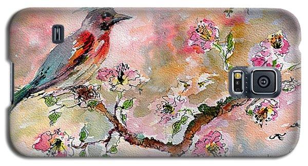 Spring Bird Fantasy Watercolor  Galaxy S5 Case