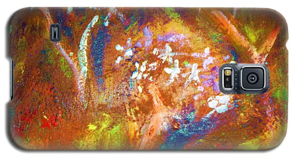 Galaxy S5 Case featuring the painting Spring Blossom by Winsome Gunning