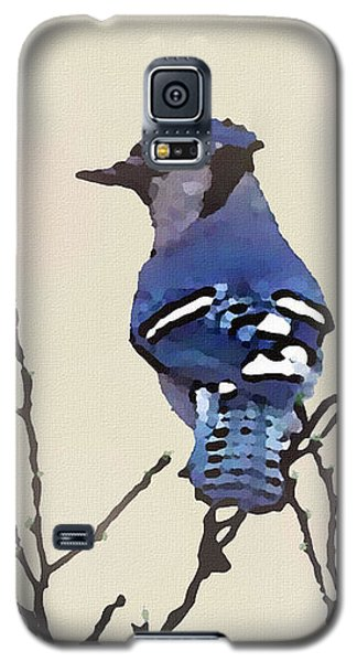 Spring Bluejay Galaxy S5 Case