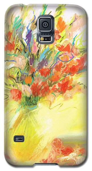 Galaxy S5 Case featuring the painting Spring Bouquet by Frances Marino
