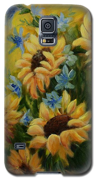 Sunflowers Galore Galaxy S5 Case