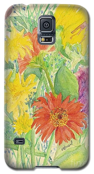 Galaxy S5 Case featuring the painting Spring Bouquet  by Vicki  Housel