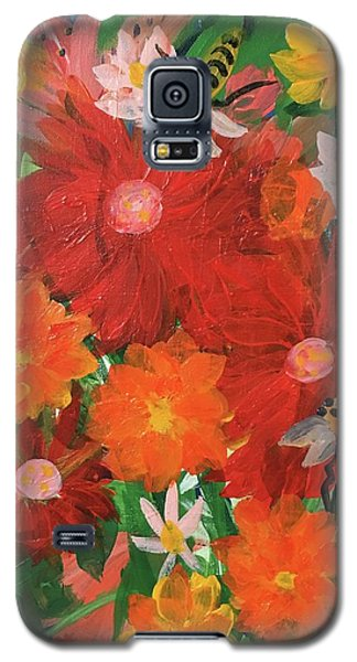 Spring Bumble Bees Galaxy S5 Case