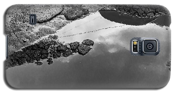 Spring Clouds Puddle Reflection Galaxy S5 Case