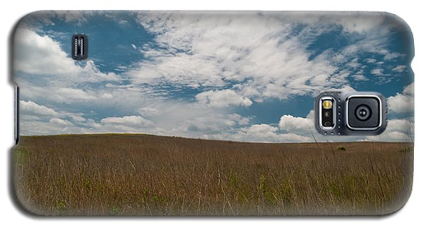 Galaxy S5 Case featuring the photograph Spring Creek Prairie by Joshua House