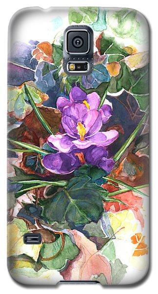 Spring Crocus Galaxy S5 Case