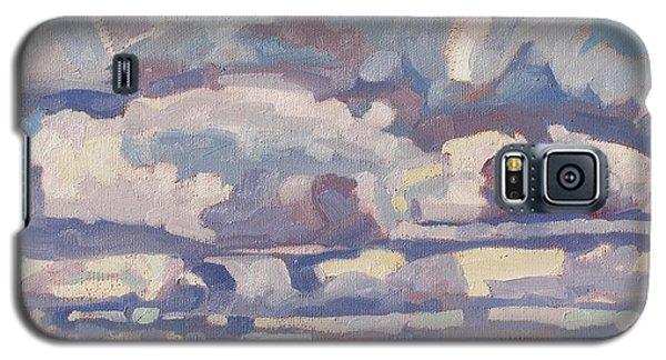 Spring Cumulus Galaxy S5 Case