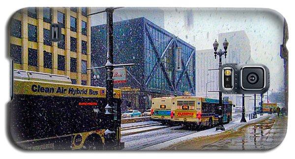 Spring Day In Chicago Galaxy S5 Case by Dave Luebbert