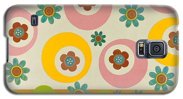 Galaxy S5 Case featuring the mixed media Spring Delight by Gloria Rothrock