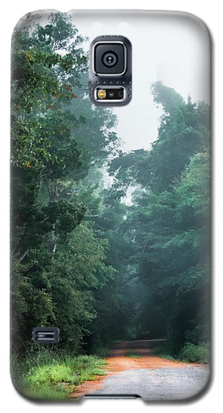 Galaxy S5 Case featuring the photograph Spring Dirt Road by Shelby Young