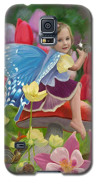 Fairy Galaxy S5 Case - Spring Fairy by Lucie Bilodeau