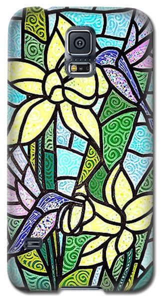 Galaxy S5 Case featuring the painting Spring Fling by Jim Harris