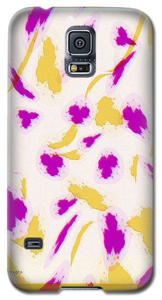 Galaxy S5 Case featuring the digital art Spring Fling by Kae Cheatham