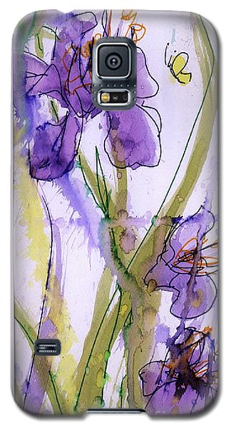 Galaxy S5 Case featuring the painting Spring Fling by P J Lewis