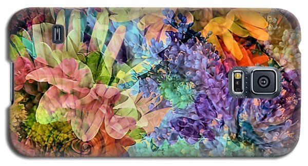 Galaxy S5 Case featuring the photograph Spring Floral Composite  by Janice Drew