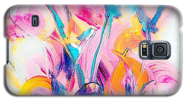 Spring Floral Abstract Galaxy S5 Case