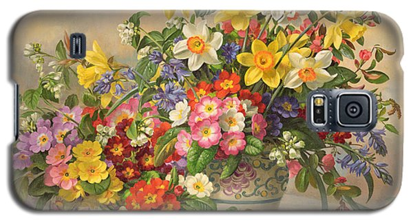 Spring Flowers And Poole Pottery Galaxy S5 Case