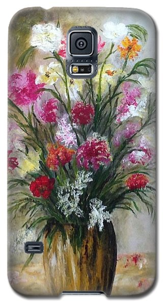 Spring Flowers Galaxy S5 Case by Renate Voigt