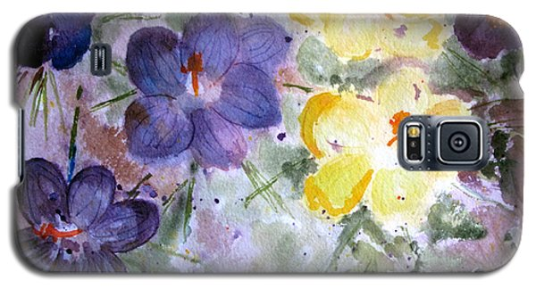 Spring Flowers Galaxy S5 Case by Sandy McIntire