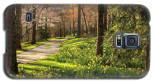 Spring Garden Path Galaxy S5 Case