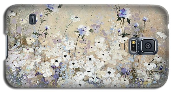 Galaxy S5 Case featuring the painting Spring Gardens by Laura Lee Zanghetti