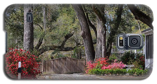 Spring Gate Galaxy S5 Case by Linda Brown