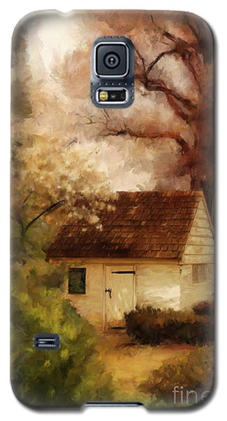 Galaxy S5 Case featuring the digital art Spring House In The Spring by Lois Bryan