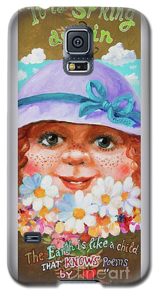 Galaxy S5 Case featuring the painting Spring by Igor Postash